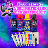 Fluorescent Sublimation Ink Conversion Kit for Epson WF-7710, 7720, 7610, 7620, 7110, 7210, 3640, 3620 | Cosmos Ink®