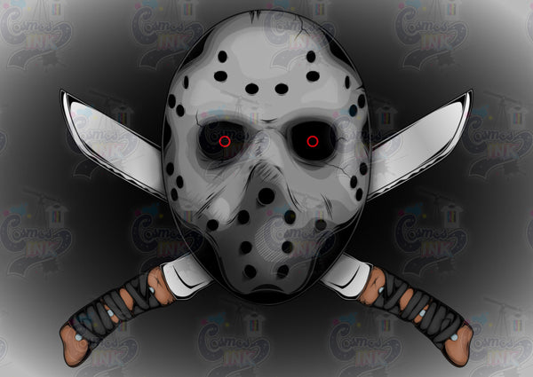 Friday the 13th Inspired | Cosmos Ink