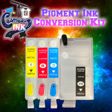 Pigment Ink Conversion Kit for Epson WF-7710, 7720, 7610, 7620, 7110, 7210, 3640, 3620 | Cosmos Ink® (T252XL Cartridges)