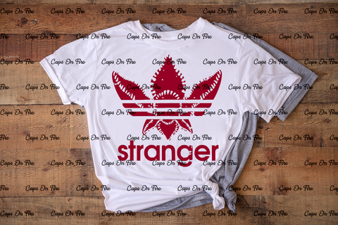 Stranger Adidas (DIGITAL DESIGN DOWNLOAD) - Cosmos Ink