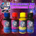 Sublimation Ink Conversion Kit for Epson WF-7710, 7720, 7610, 7620, 7110, 7210, 3640, 3620 (All Four Colors) | Cosmos Ink®