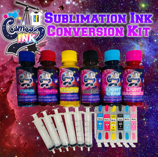 Sublimation Ink Conversion Kit for Epson Artisan 1430 and Stylus Photo 1400 | Cosmos Ink®