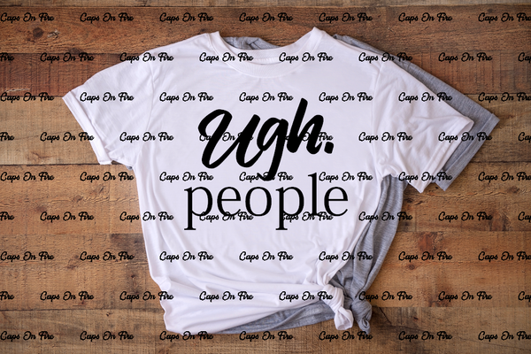 Ugh. People (DIGITAL DESIGN DOWNLOAD) - Cosmos Ink