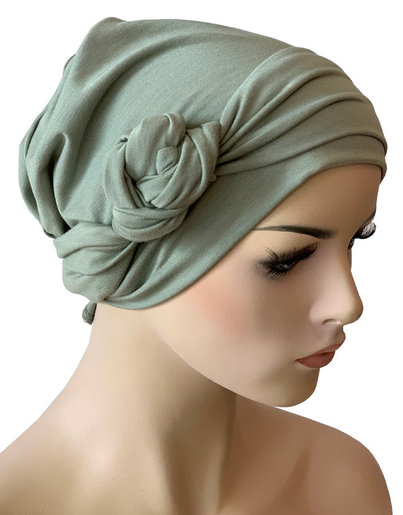 4f0bfa79c Hat Show Chemo Headwear For Cancer & Alopecia Patients with Hair Loss.