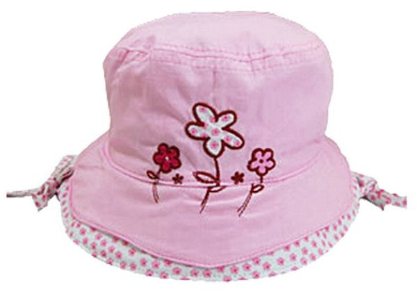Kids Hats -  Sun Hats for Girls - Pink (1009)