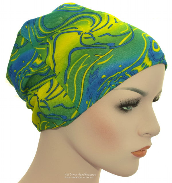 Seamless Multifunctional Headwraps - Sand And Sea