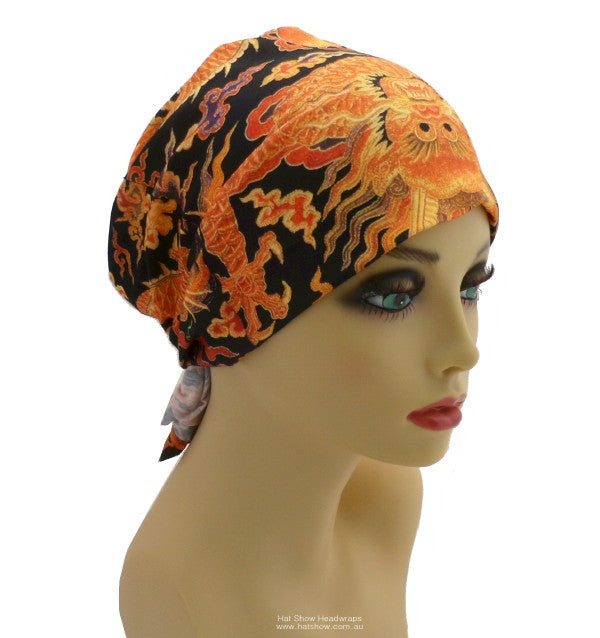 Seamless Multifunctional Headwraps - Fiery Dragon