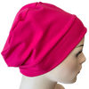 Cotton Chemo Night Caps - Fuchsia