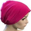 Cotton Chemo Turban - Lined - Fuchsia