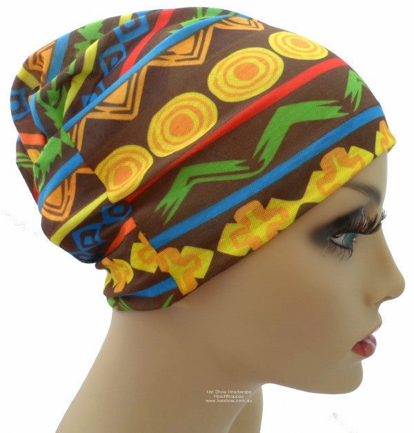 Seamless Multifunctional Headwraps - Tribal Art