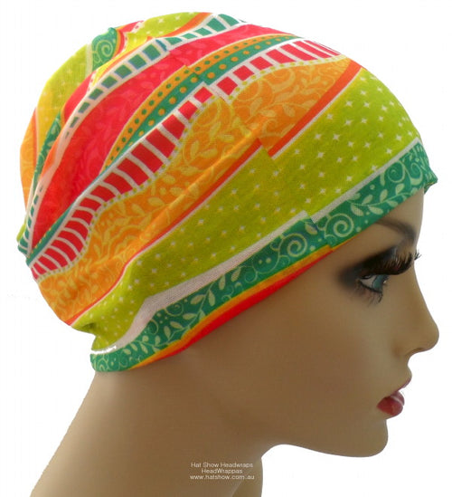 Seamless Multifunctional Headwraps - Outback Brights