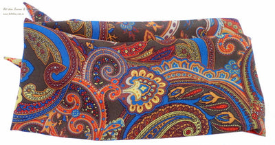 Shaped Scarf - Crepe Paisley (Assorted)