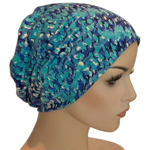 Beanies - Comfort Stretch - Blue Gems