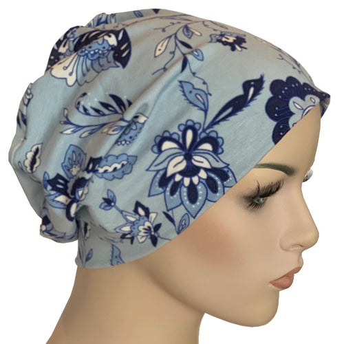Beanies - Comfort Stretch - Blue Lotus