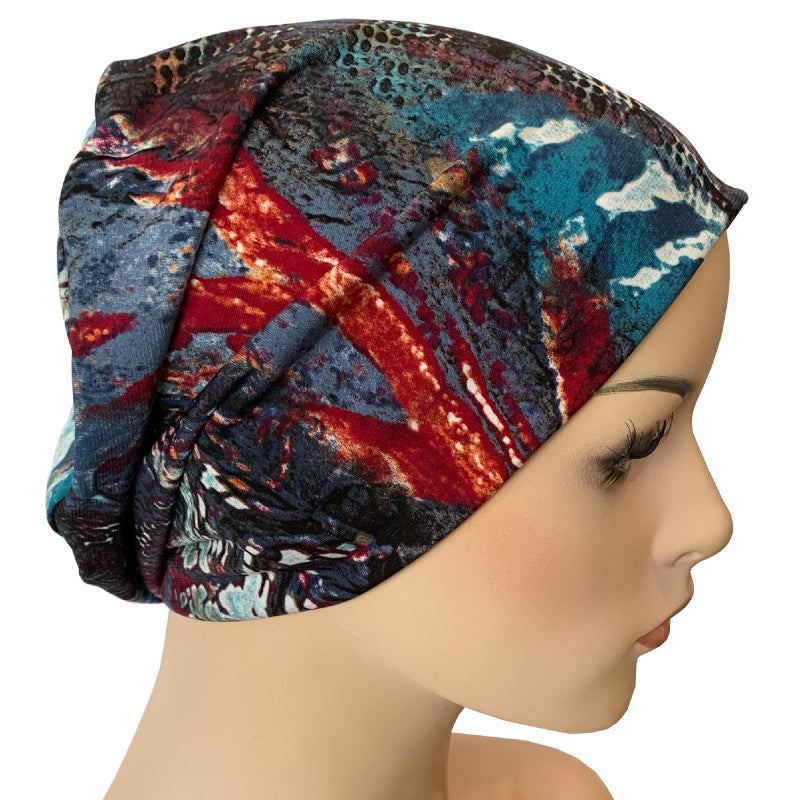 Beanies - Comfort Stretch - Blue Planet
