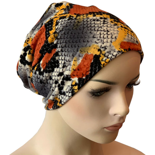 Beanies - Comfort Stretch - Orange Cobra