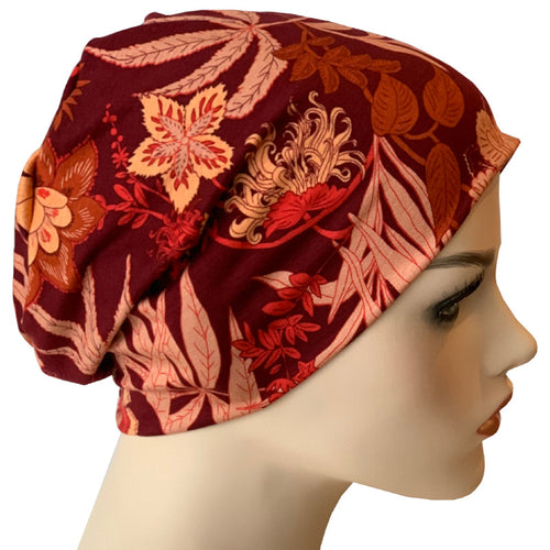 Beanies - Comfort Stretch - Red Lotus
