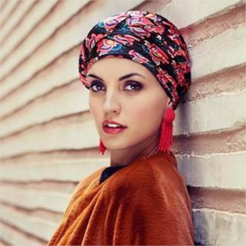 Christine - Boho Turban - Signature Flower