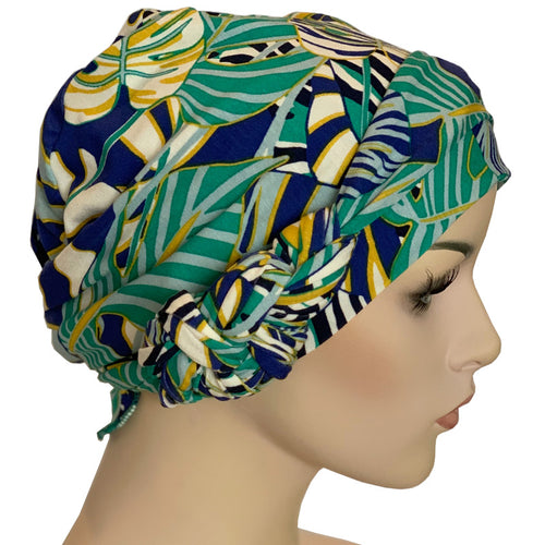 Chemo Cap with Ties - Deliciosa Collection