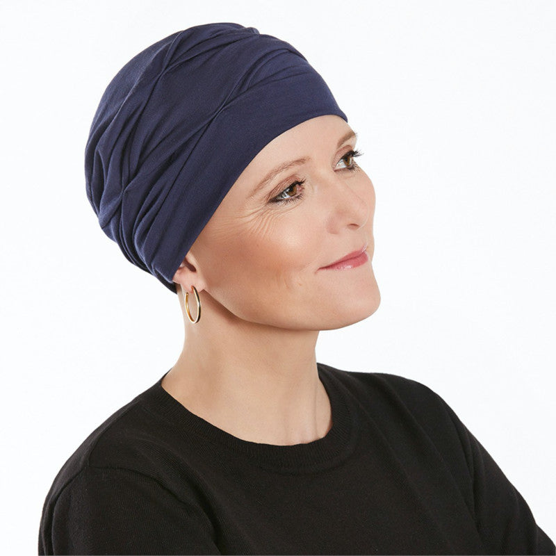 Christine - BECCA Turban - Dark Blue