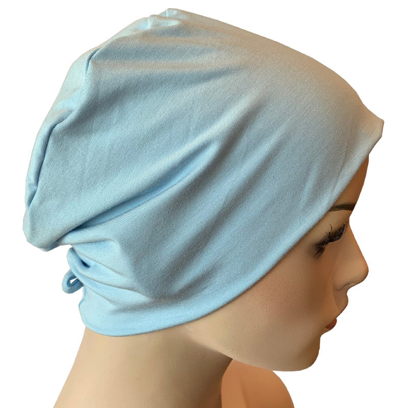 Donna Hat with Loop for Scarf - Ballerina Blue