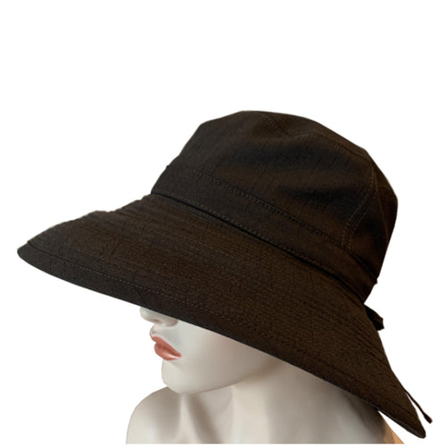Sun Hats - Wide Brim - Chocolate