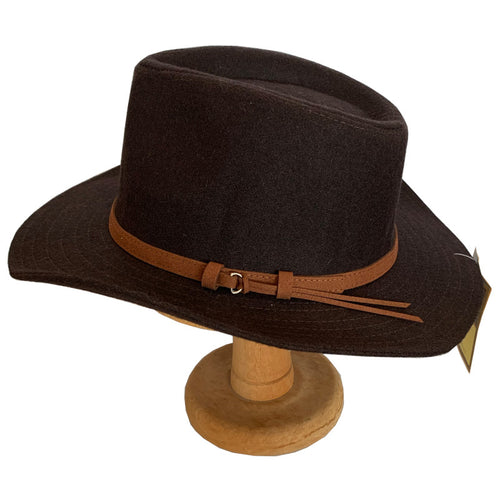 Mens Hats - Fedora - Brown