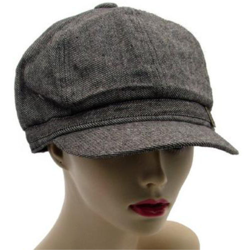 Peaked Caps - Newsboy Style - Brown