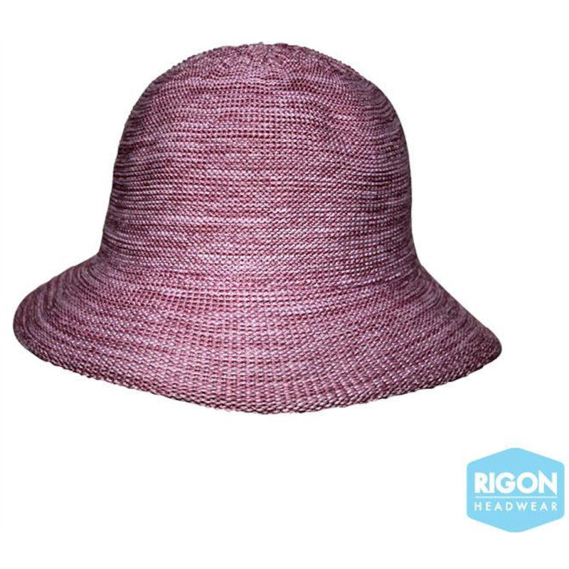 Rigon - Petite Summer Cloche - Old Rose Pink