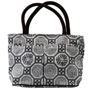 Handbags in Printed Polyester