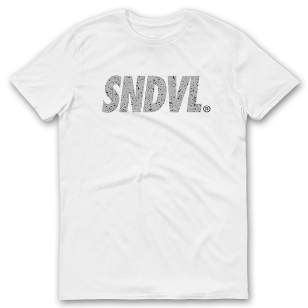 "SNDVL ""Cement"" Logo T-Shirt"