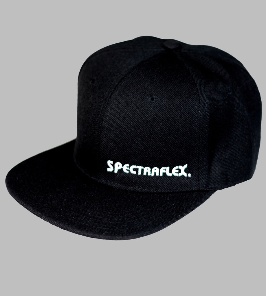 BK Cap Flat Bill Snapback Hat with Same Color Underbill (Black) side logo 2133d773fa9