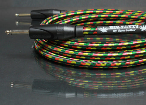 Big Fatty Guitar Cable - Dual Straight Plugs