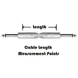 Pedal Cable Dual Straight Plugs