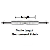 Baldee Guitar Cable - Dual Straight Plugs