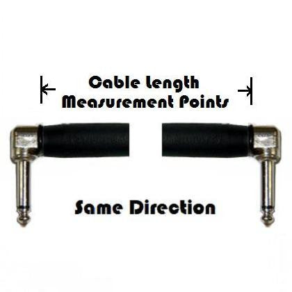 Standard Series Braided Guitar Cable - Dual Right Angle Plugs