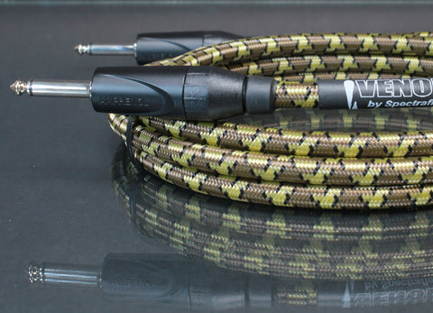 Venom Guitar Cable - Dual Straight Plugs