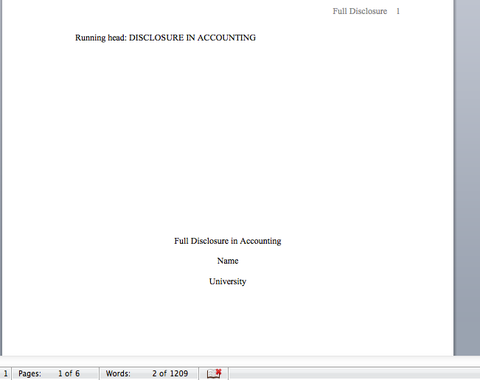 A Screenshot of a custom essay for an online accounting student