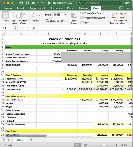 fin 370 finance lab answers Use this video to take full advantage of accnerd's fin 370 lab spreadsheets .