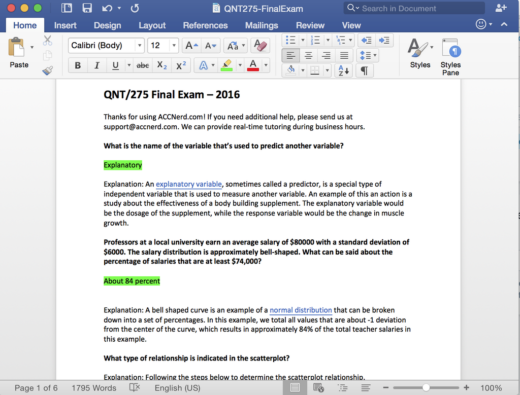 qnt 275 what is statistics Entire course link qnt/275 statistics for decision making the latest version a+ study guide.