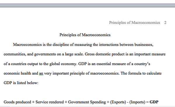 A preview of the fundamentals of macroeconomics in eco 372