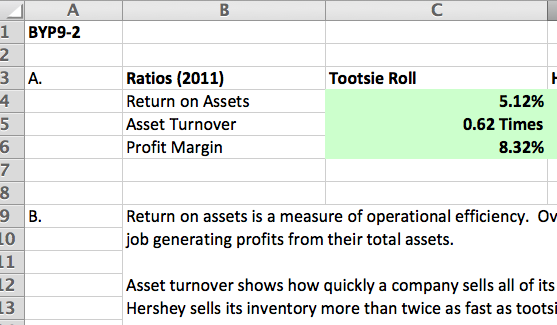 receivable turnover ratio for hershey and tootsie roll