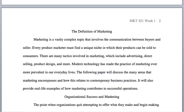 defining marketing essay With reference to the readings below and your own literature research, outline and critically assess the idea of ``sustainable marketing'' sustainable marketing is a modern concept that most companies are using to market their products nowadays in general, sustainable marketing can be defined as a way to market.
