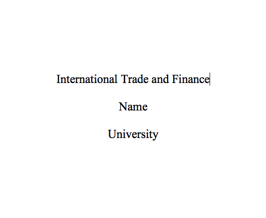 international trade and finance speech essay Eco 372 eco 372 week 5 international trade and finance eco 372 eco 372 week 5 individual assignmentinternational trade and finance speech categories uncategorized post navigation previous post previous health care and life sciences next post next individual assignment get original, affordable essays are you looking for a custom essay.
