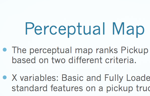 mkt421 week 4 perceptive maps Mkt 421 week 4 using perceptual maps in marketing simulation summary get tutorial by clicking on the link below or copy paste link in your browser.