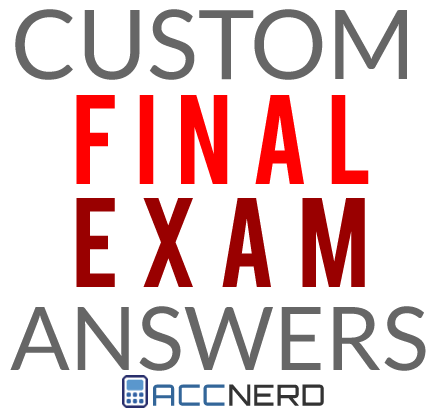 acc 421 final exam wiley plus Create explore learn & support get started log transcript of acc 421 final exam.