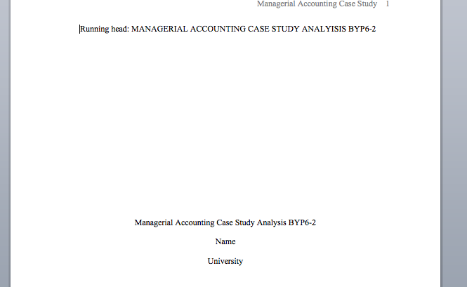 managerial analysis byp6 2 essay Management decision problem arise in any organisations when they knowledge of some of the topics presented and tools of analysis utilized in managerial economics.