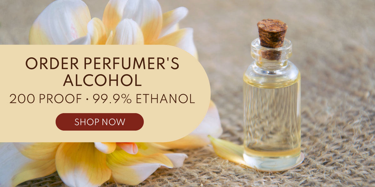 Perfumer's alcohol. Order online from Vetiver Aromatics.