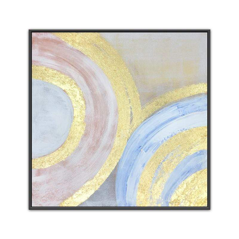 Whirls of Color Oil Painting