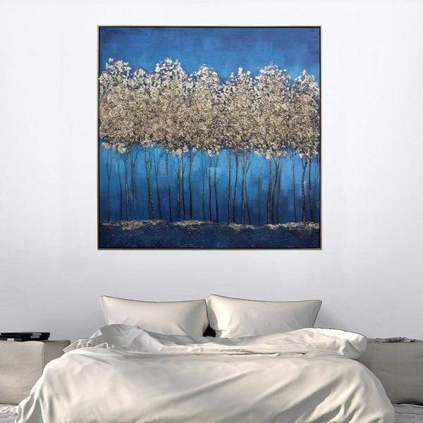 Forest of Gold Oil Painting